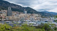 The Port of Montecarlo - stock photo