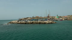 Port of Akko - 9 Stock Footage