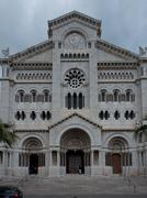 Monaco Cathedral Stock Photos