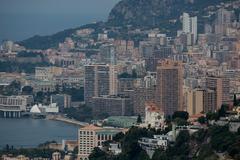 Buildings of Montecarlo - stock photo