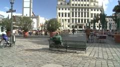Augsburg City Hall Stock Footage