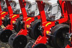 Mechanized machinery equipment for agriculture industry - stock photo