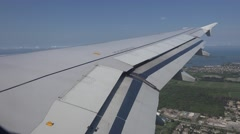 Airbus Flaps Stock Footage