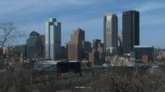 Pittsburg skyline 2 Stock Footage