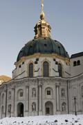The Ettal Abbey - stock photo