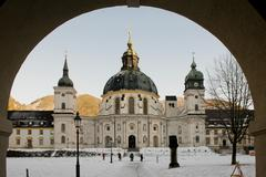 Stock Photo of The Ettal Abbey