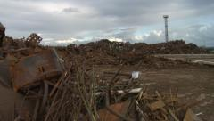 Scrap Yard Stock Footage