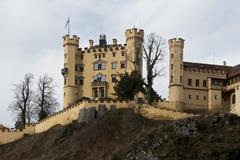 Hohenschwangau Castle in Bavaria - stock photo