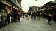 Stock Video Footage of Jerusalem Market 1