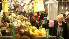 Jerusalem Market 11 Stock Footage