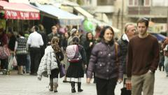 Jerusalem Market 8 Stock Footage
