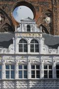 Town-hall in Lubeck Stock Photos