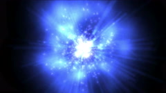 4k explosion tech energy & flare dynamic rays fiber light,nebula in universe. Stock Footage