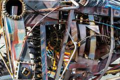 Scrap Metal Welded Together Kuvituskuvat