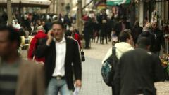 Street of Jerusalem 3 Stock Footage