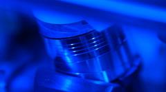 Video tape drive mechanism Stock Footage