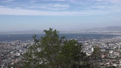 Driving up to the Table Mountain (Cape Town, South Africa) Stock Footage