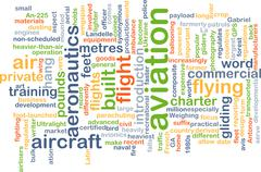 Stock Illustration of Aviation background concept