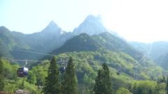 Mount Tianzhu, Anhui, China. Stock Footage