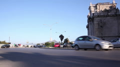 Traffic on the island of Sicily Stock Footage