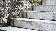 Old stairs Stock Footage