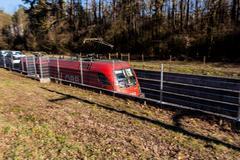 Freight train öbb Kuvituskuvat