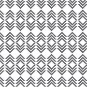 Stock Illustration of vector seamless gray pattern geometrical