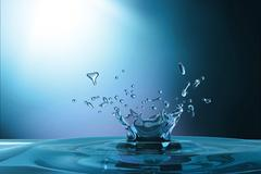 waterdrop background - stock illustration
