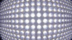 Led panel light Stock Footage