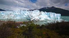 Glacier in Argentina - stock footage