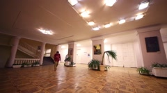 Hall of Russian State University of Cinematography. Stock Footage