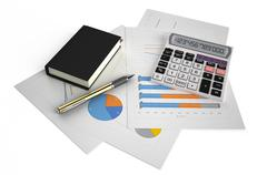 Business, finance and accounting concept - stock illustration