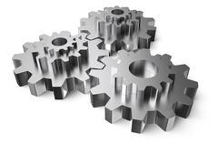gearwheels - stock illustration