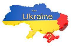 War in Ukraine - stock illustration