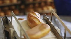 Production of bread Stock Footage