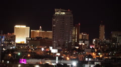 Residential areas of Las Vegas apart from strip - stock footage
