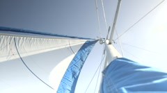 Mast of the Boat Stock Footage