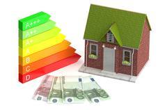 Power saving and economy concept Stock Illustration