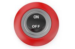 Round switch Stock Illustration