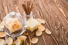 Aromatherapy. Spa stuff Stock Photos