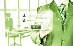 Login and password Stock Photos