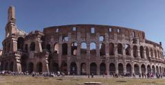 Colisseum in Rome (4K) Stock Footage