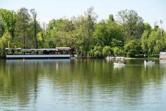 Carol Park (Liberty Park) In Bucharest - stock photo