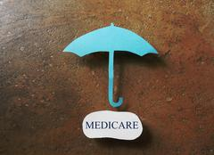 Medicare coverage - stock illustration