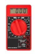 Electric multimeter - stock photo