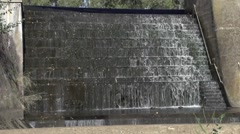 River Torrens Dam in Adelaide South Australia Stock Footage
