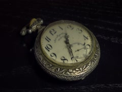 Old vintage pocket watches timelapse 4k Stock Footage