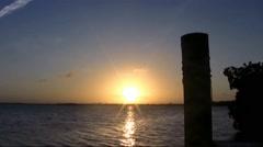 Advance Speed Sunset Stock Footage