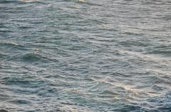 Detailed Texture Of Sea Water - stock photo