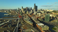 Seattle Aerial Stock Footage